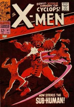 Uncanny X-Men (1963-2011)#41
