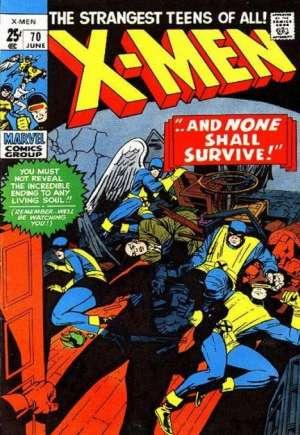 Uncanny X-Men (1963-2011)#70