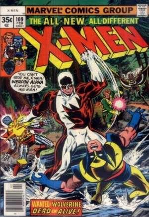 Uncanny X-Men (1963-2011)#109A