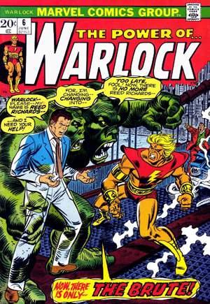 Warlock (1972-1976)#6