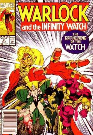 Warlock and the Infinity Watch (1992-1995) #2A