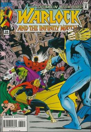 Warlock and the Infinity Watch (1992-1995)#38