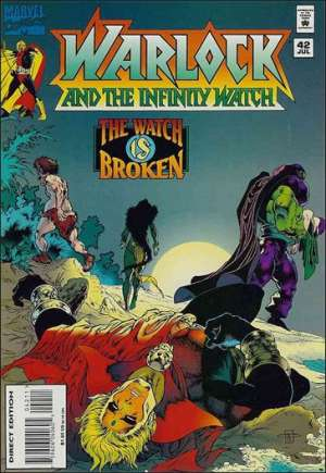 Warlock and the Infinity Watch (1992-1995)#42