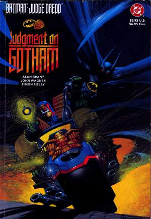 Batman/Judge Dredd: Judgment on Gotham (1991) #GNA