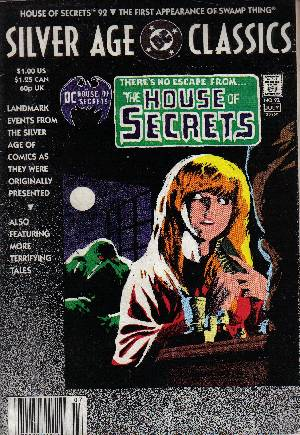 DC Silver Age Classics House of Secrets #92