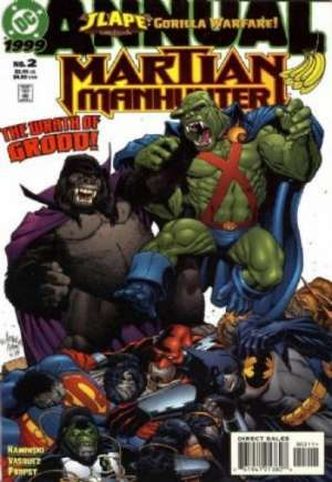 Martian Manhunter (1998-2001)#Annual 2