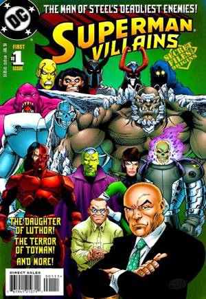 Superman Villains Secret Files#1