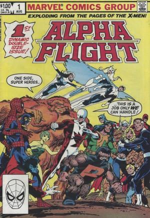 Alpha Flight (1983-1994)#1B