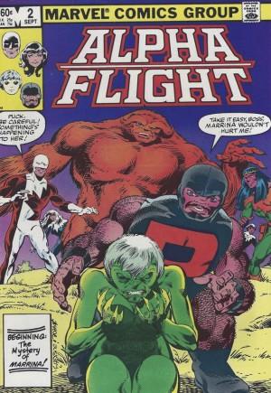 Alpha Flight (1983-1994)#2B