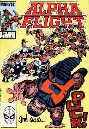 Alpha Flight (1983-1994)#5B
