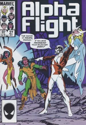 Alpha Flight (1983-1994)#27B