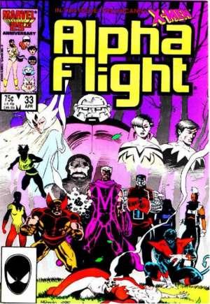 Alpha Flight (1983-1994)#33B