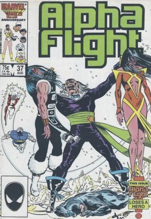 Alpha Flight (1983-1994)#37B