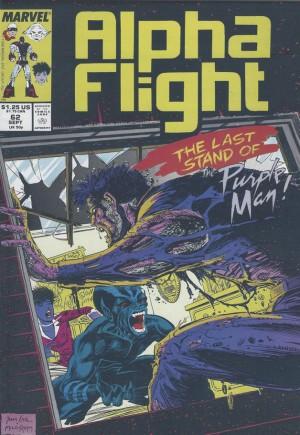 Alpha Flight (1983-1994)#62