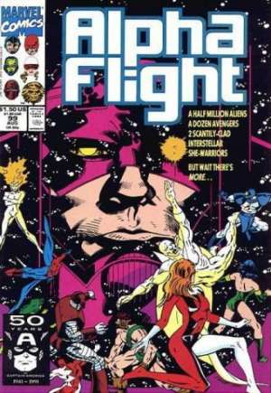 Alpha Flight (1983-1994) #99