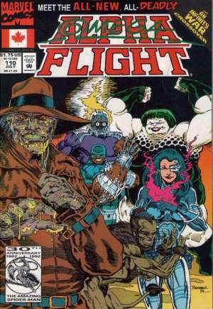 Alpha Flight (1983-1994)#110