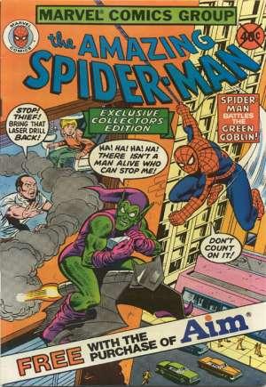 Amazing Spider-Man: Aim Toothpaste (1980-1982)#1