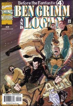 Before the Fantastic 4: Ben Grimm and Logan (2000) #2