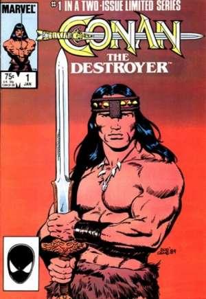 Conan the Destroyer (1985)#1B