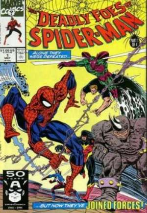 Deadly Foes of Spider-Man (1991)#1B