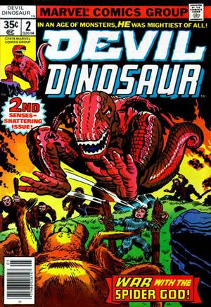 Devil Dinosaur (1978)#2
