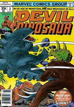 Devil Dinosaur (1978)#3