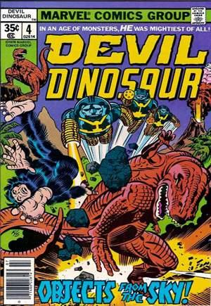Devil Dinosaur (1978)#4