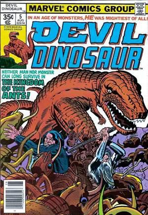 Devil Dinosaur (1978)#5