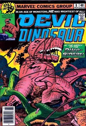 Devil Dinosaur (1978)#8