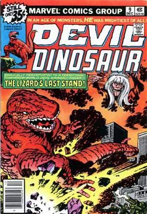 Devil Dinosaur (1978)#9