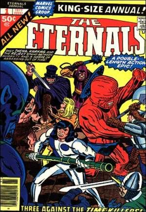 Eternals (1976-1978)#Annual 1