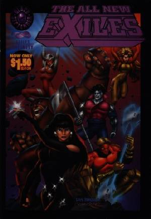All New Exiles Infinity (1995) #1C