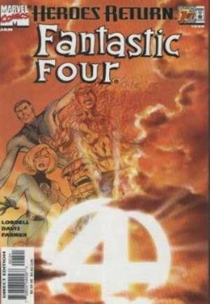 Fantastic Four (1998-2011)#1B