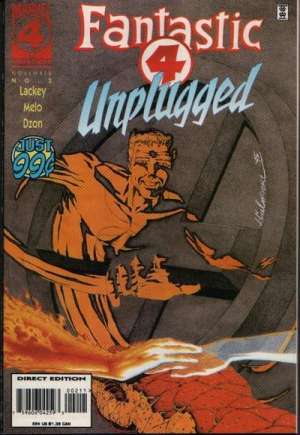 Fantastic Four Unplugged (1995-1996)#2