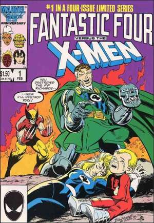 Fantastic Four vs. X-Men (1987) #1B
