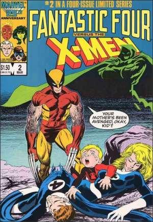Fantastic Four vs. X-Men (1987)#2B