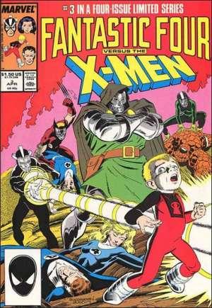 Fantastic Four vs. X-Men (1987)#3B