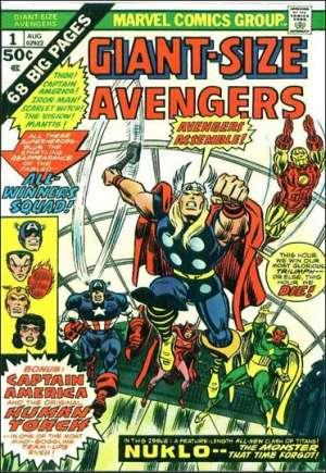 Giant-Size Avengers (1974-1975)#1