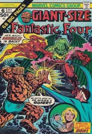 Giant-Size Fantastic Four (1974-1975)#6