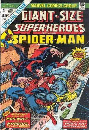 Giant-Size Super-Heroes Featuring Spider-Man (1974) #1