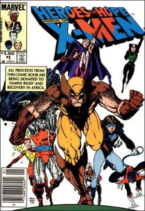 Heroes for Hope Starring the X-Men #1A