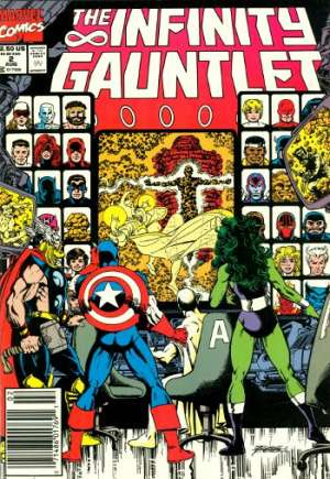 Infinity Gauntlet (1991)#2A