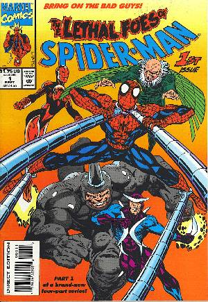 Lethal Foes of Spider-Man (1993) #1B