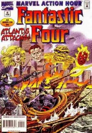 Marvel Action Hour Featuring the Fantastic Four (1994-1995) #4B