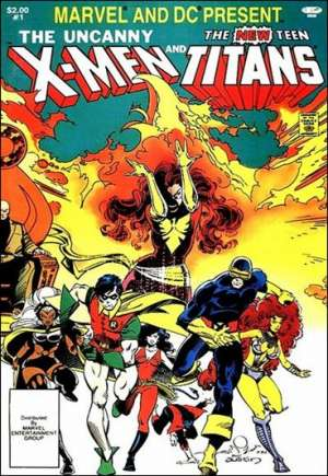 Marvel and DC Present Featuring the Uncanny X-Men and the New Teen Titans (1982)#1A