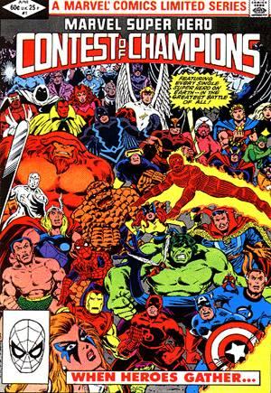 Marvel Super-Hero Contest of Champions (1982)#1B
