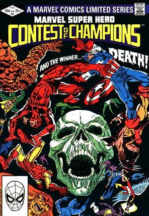 Marvel Super-Hero Contest of Champions (1982)#3B