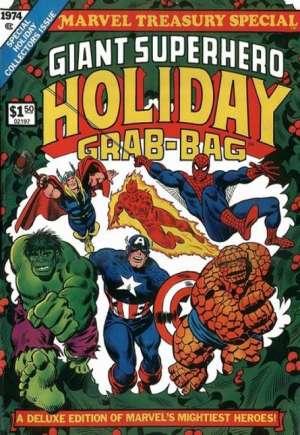 Marvel Treasury Special: Giant Superhero Holiday Grab-Bag (1974)#1