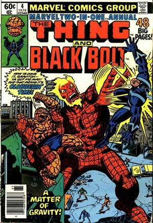 Marvel Two-In-One (1974-1983)#Annual 4A