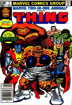 Marvel Two-In-One (1974-1983) #Annual 7A